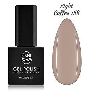NANI gel lak 6 ml - Light Coffee obraz