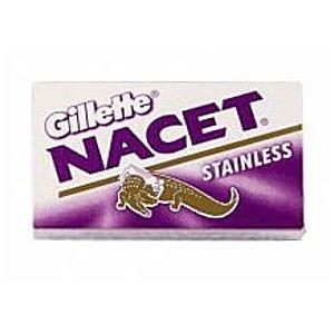 Gillette Nacet Stainless žiletky obraz