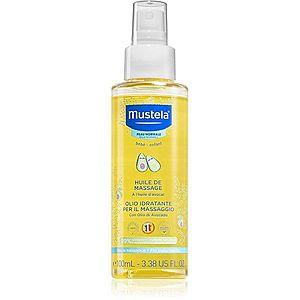 Mustela Bébé tělový a masážní olej pro děti od narození 100 ml obraz