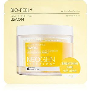 Neogen Dermalogy Bio-Peel+ Gauze Peeling Lemon peelingové pleťové tamponky pro rozjasnění a vyhlazení pleti 1 ks obraz