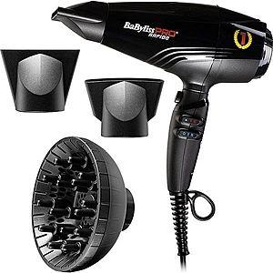 BaByliss PRO Rapido BAB7000IE fén na vlasy Light Black obraz