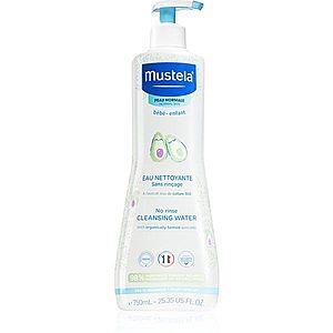 Mustela Bébé PhysiObébé čisticí voda pro děti od narození 750 ml obraz
