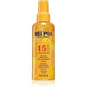 Hei Poa Monoi Suncare olej na opalování ve spreji SPF 15 150 ml obraz