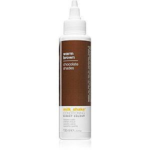 Milk Shake Direct Colour tónovací kondicionér pro hnědé odstíny vlasů 100 ml obraz