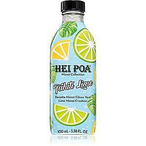 Hei Poa Tahiti Monoi Oil Lime multifunkční olej na obličej, tělo a vlasy 100 ml obraz