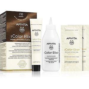 Apivita My Color Elixir barva na vlasy bez amoniaku odstín 7.0 Blonde obraz