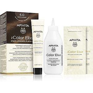 Apivita My Color Elixir barva na vlasy bez amoniaku odstín 6.0 Dark Blonde obraz