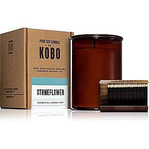 KOBO Woodblock Stoneflower vonná svíčka 425 g obraz