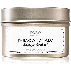 KOBO Motif Tabac and Talc vonná svíčka v plechovce 113 g obraz