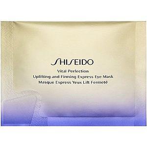Shiseido Vital Perfection Uplifting & Firming Express Eye Mask liftingová a zpevňující maska na oční okolí 12 ks obraz