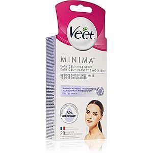 Veet Minima voskové depilační pásky na obličej 20 ks obraz