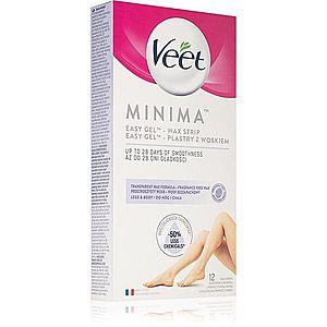 Veet Minima voskové depilační pásky na nohy 12 ks obraz