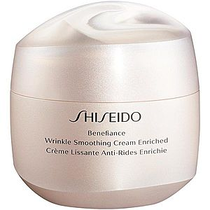 Shiseido Benefiance Wrinkle Smoothing Cream Enriched denní a noční krém proti vráskám pro suchou pleť 75 ml obraz
