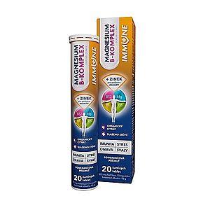 Magnesium B-komplex IMMUNE 20 šumivých tablet obraz