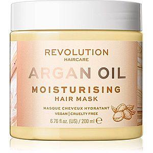 Revolution Haircare Hair Mask Argan Oil intenzivně hydratační a výživná maska na vlasy 200 ml obraz
