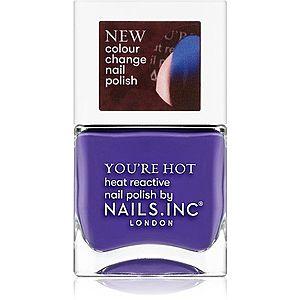 Nails Inc. You're hot lak na nehty odstín You're so fire 14 ml obraz