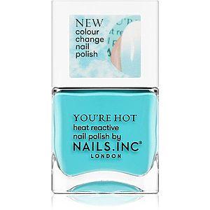Nails Inc. You're hot lak na nehty odstín Feel the hotness 14 ml obraz