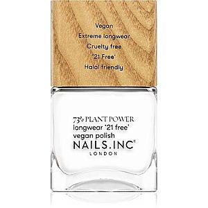 Nails Inc. Vegan Nail Polish dlouhotrvající lak na nehty odstín Free time it's me time 14 ml obraz