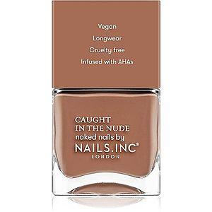 Nails Inc. Caught in the nude lak na nehty odstín Tulum beach 14 ml obraz