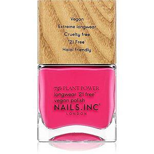 Nails Inc. Vegan Nail Polish dlouhotrvající lak na nehty odstín and breathe 14 ml obraz