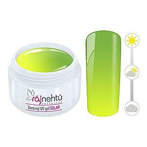 Ráj nehtů Barevný UV gel SOLAR 5 ml - Yellow obraz
