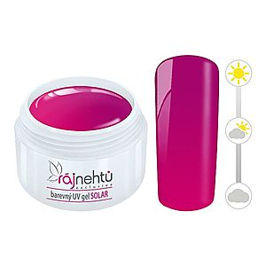 Ráj nehtů Barevný UV gel SOLAR 5 ml - Pink obraz