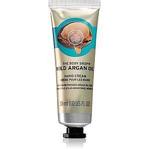 The Body Shop Wild Argan Oil krém na ruce s arganovým olejem 30 ml obraz