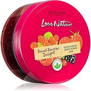 Oriflame Love Nature Forest Berries Delight čisticí tělový peeling 200 ml obraz