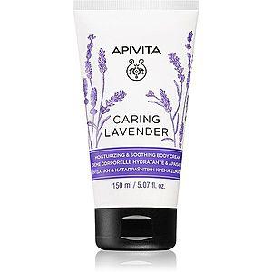 Apivita Caring Lavender hydratační tělový krém 150 ml obraz