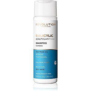 Revolution Haircare Skinification Salicylic čisticí šampon pro mastné vlasy a vlasovou pokožku 250 ml obraz