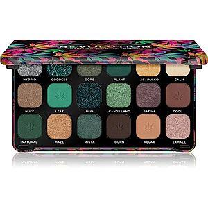 Makeup Revolution Forever Flawless paleta očních stínů odstín Chilled 18 x 1.1 g obraz