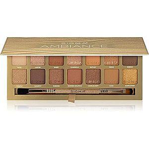 Sigma Beauty Ambiance Eyeshadow Palette paleta očních stínů 24 g obraz