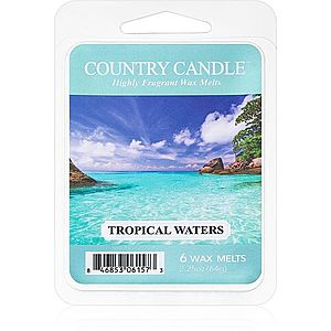Country Candle Tropical Waters vosk do aromalampy 64 g obraz