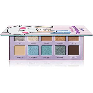 Rude Cosmetics Party Animals paleta očních stínů odstín RUgs RUnny 10 g obraz