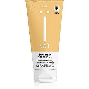 Naif Face pleťový krém na opalování SPF 30 50 ml obraz