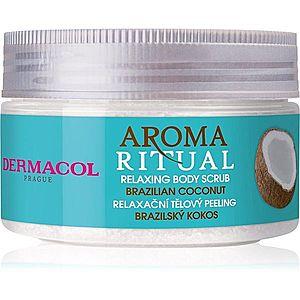 Dermacol Aroma Ritual Brazilian Coconut jemný tělový peeling 200 g obraz