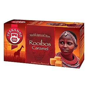Teekanne Rooibos Caramel čaj porcovaný 20x1, 75 g obraz