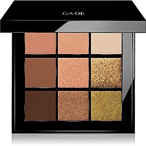 GA-DE Velveteen paletka očních stínů odstín 53 Oh So Pretty 8.1 g obraz