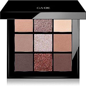 GA-DE Velveteen paletka očních stínů odstín 54 Oh So Chic 8.1 g obraz