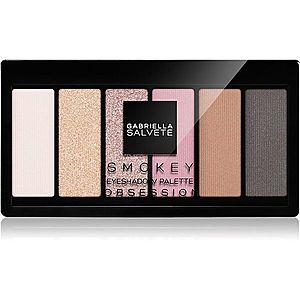 Gabriella Salvete Eyeshadow 6 Shades Palette paleta očních stínů odstín 04 Obsession 12 g obraz