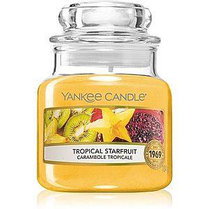Yankee Candle Tropical Starfruit vonná svíčka 104 g obraz