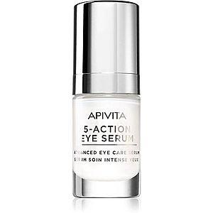 Apivita 5-Action Eye Serum intenzivní sérum na oční okolí 15 ml obraz