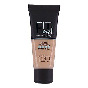 Maybelline Fit Me Matte&Poreless make-up 120 30 ml obraz