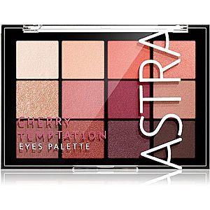 Astra Make-up Palette The Temptation paleta očních stínů odstín Cherry Temptation 15 g obraz