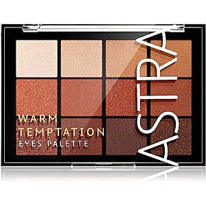 Astra Make-up Palette The Temptation paleta očních stínů odstín Warm Temptation 15 g obraz