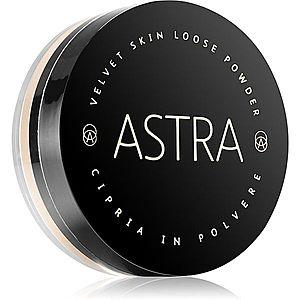 Astra Make-up Velvet Skin rozjasňující sypký pudr pro sametový vzhled pleti odstín 02 Porcelain 11 g obraz