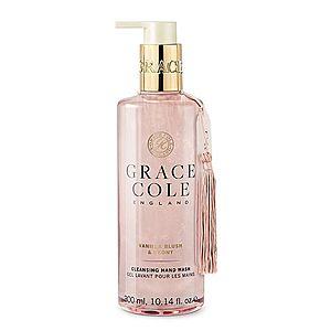 Grace Cole Vanilla Blush & Peony tekuté mýdlo na ruce 300 ml obraz