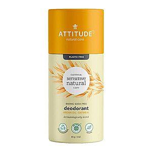ATTITUDE Přírodní tuhý deodorant pro citlivou pokožku bez vůně s arganovým olejem 85 g obraz