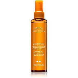 Institut Esthederm Sun Care Oil opalovací olej na tělo a vlasy se střední UV ochranou 150 ml obraz