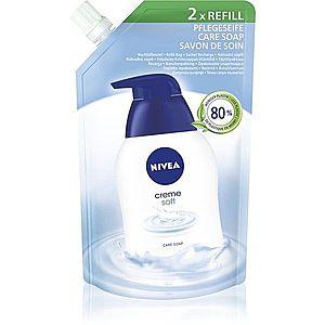 Nivea Creme Soft tekuté mýdlo náhradní náplň 500 ml obraz